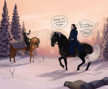 COLLAB: Dressage for Wood Chopping by Zoubstance