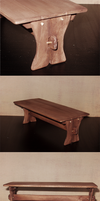 minis: 17th c. refectory table by afterthestars