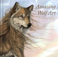 """Amazing Wolf Art"" Cover by ColoredPencilMag"