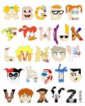 Child of the 90s Alphabet by mbaboon