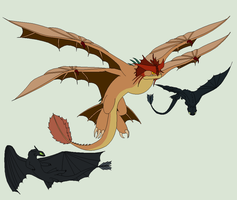 HTTYD Base 100~Dragon Mix 7~ by Xbox-DS-Gameboy