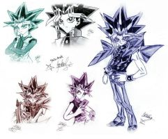 Yami Random drawing (my first drawings in my life) by YL-17