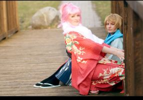 Shugo Chara - Tadase and Amu by Amapolchen