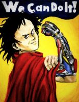 "Tetsuo's ""WE Can Do It"" by felegund"