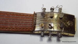 Aug. 30, 2015 - First Leather Neck Guitar by randomasusual