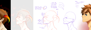 Redlines: Horns by Orange-Lily-Adopts