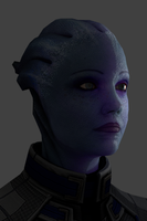 Liara (sub scattering surface) by poopopopero