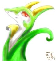 Serperior by Lillytheeevee