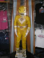 MMPR Yellow Ranger Suit by Phenom-Jak
