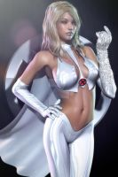 ~ The White Queen (Emma Frost) ~ by CKImagery
