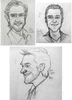 Raul Esparza sketches by Ciorane