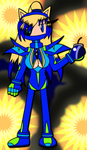 Kechi Bomber Type -Power of the Bomb Chaos Crystal by KechiTheHedgie