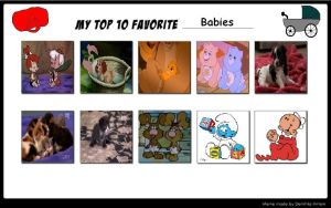 My Top 10 Babies by J-Cat