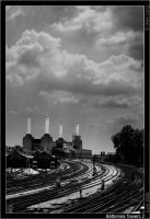 Battersea Towers 2 by ChkyMnky