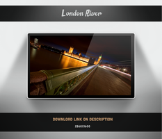 London River Wallpaper by theminimalisto