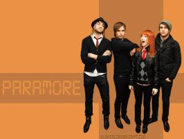 Orange PARAMORE wallpaper by alekzis