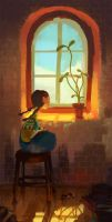 Sunny window by k-atrina