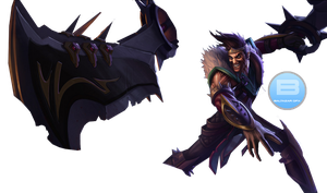 Draven,the Glorious Executioner render by baltazar by BaltazarGFX