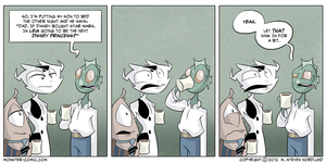 Mind Blown by monster-comic