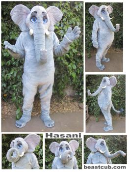 Hasani the Elephant by LilleahWest