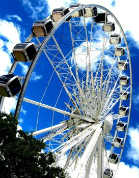 Ferris Wheel at The Waterfront by Shelli-xx