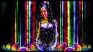 Stained Glass Illusion by ScorpiiLupi