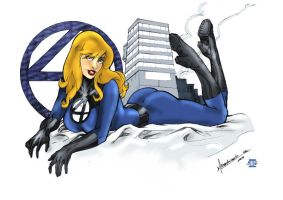 Invisible Woman by Blindman-CB
