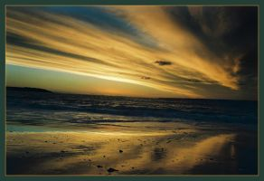 Sunset at McHaffies Point 4 by wildplaces