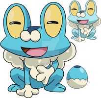 656 - Froakie - Art v.4 by Tails19950