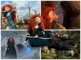 Merida The Brave by stitch5408
