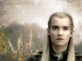 Legolas wallpaper by kociaraaa94