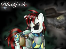Fallout Equestria PH: Blackjack and The Dealer by Kaze1121