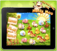 Molly Moo iPad App by Seiorai