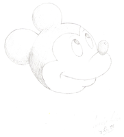 Mickey Mouse by jacquelynfisher
