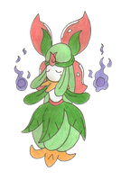 Mega Lilligant by Frozen-Echo