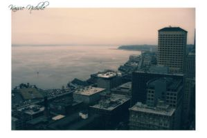 Seattle - Puget Sound by Scapes-club