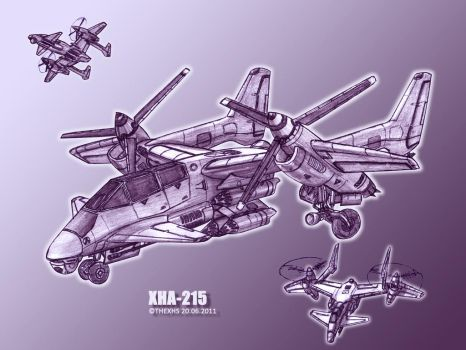 XHA-215 by TheXHS
