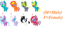 FREE MLP PONY ADOPTS!! by puggal0503