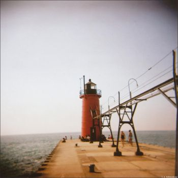 South Pier Light by Limaria