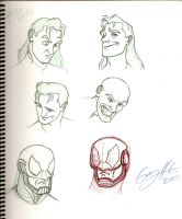 Peter T. Wells sketches by WinkGuy1