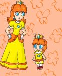 daisy and baby daisy by ninpeachlover