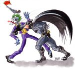 Batman Vs The Joker by yoeh