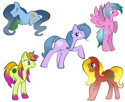Free pony adoptables by Fortitudine-Shelter