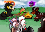 [PARPG Promt] Yummiest BBQ of all [Gift] by SushiMeep