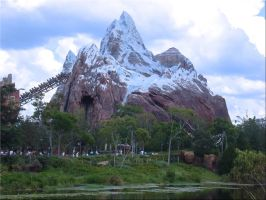 A K Everest ride as Wallpaper by WDWParksGal