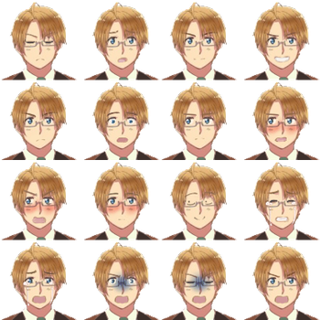 America Faceset for RPG Maker VX Ace by alyjaana