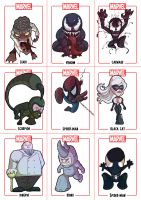 Chibi Spider-Man Sheet 2 by Juggertha