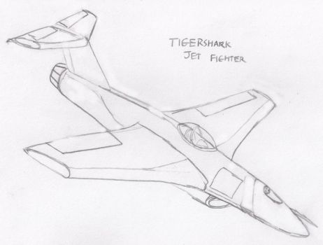 Tigershark Jet Fighter by Imperator-Zor