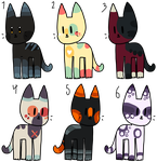 [NYP] Cat Adopts - {1/6 OPEN} by Dreamyth-Adopts