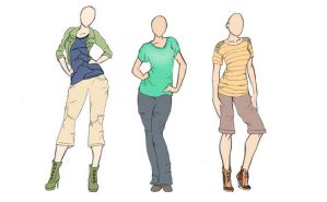Casual Clothing Design by ForeverArtsy